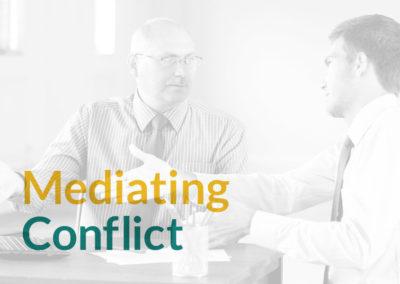 Mediating Conflict