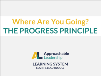 What's Next? The Progress Principle course image