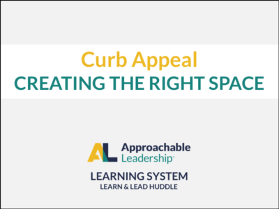 Curb Appeal: Creating the Right Space course image